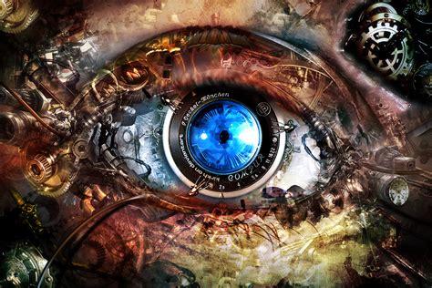 Biomech Eye By Infinitecreations On Deviantart
