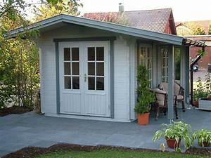 Gartenhaus Mit Vordach : gartenhaus blockhaus blockbohlenhaus ~ Articles-book.com Haus und Dekorationen