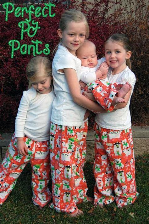 favorite  childrens pajama patterns
