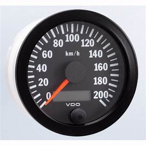 Vdo 80mm Electronic Speedometer 200km  H