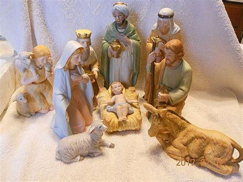 home interiors nativity set homco nativity shop collectibles daily