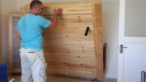 Home Made Wallbed, Cama Abatible, Opklapbed, Klappbett