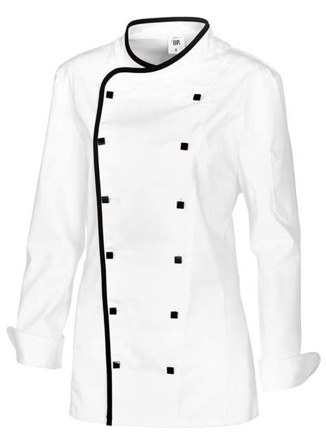 blouse de cuisine femme veste cuisine femme avec liseré comfortech stretch peut