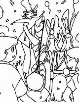 Carnival Coloring Pages Printable Getcolorings sketch template