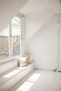 Stunning, All, White, Interior, Ideas