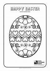 Easter Coloring Pages Egg Cool Executioner Activities Template sketch template