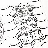 Coloring Summer Pages Fun Printable Adults Olds Hand Lettered Crush Enjoy Designs Colors Already Colored Want Getcolorings Getdrawings sketch template