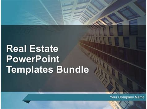 real estate powerpoint templates bundle powerpoint