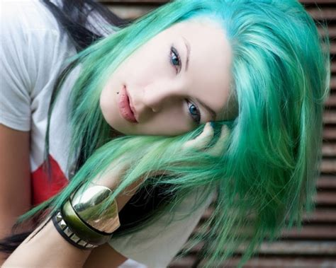 Are you interested in reading about using henna on your hair instead of cream dyes? Funky Hair Colors - Funky Hair Color Ideas