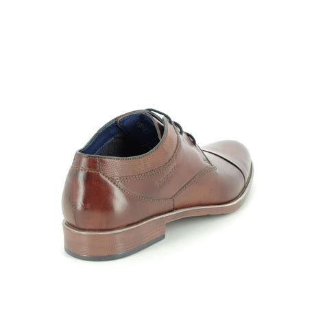 What will be your next ride? Bugatti Licio Cap 31116314-6300 Tan Leather formal shoes