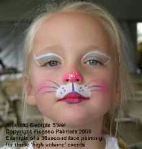 cat face paint  great   cat face