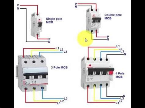 mcb connection and wiring in urdu