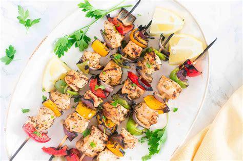 grilled mediterranean chicken kebabs delicious meets healthy