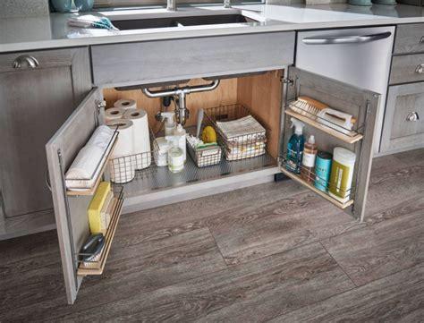 Under Kitchen Sink Storage and Organization   Home Makeover
