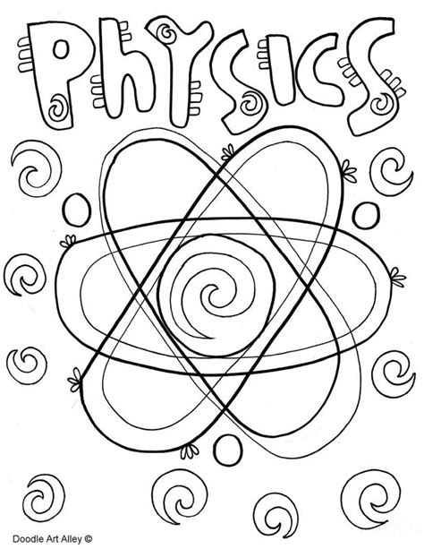 picture subject covers school subjects coloring pages