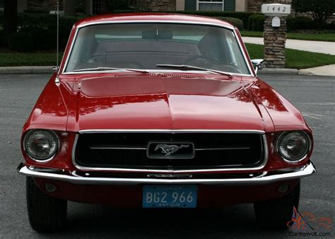 Ford Mustang Fastback 1967 Classic American Muscle Car