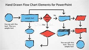 Awesome Hand Drawn Flow Chart Diagram For Powerpoint