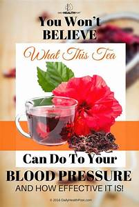 Hibiscus Tea Lowers Blood Pressure Without Side Effects
