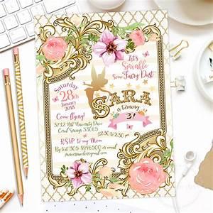 Free Tea Party Invitations To Print Fairy Invitation Fairy Birthday Invitation By