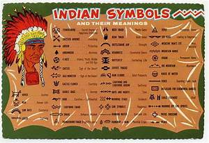 native-american-indian-symbols-and-their-meanings-vintage ...