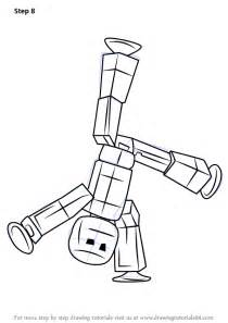 Clifford Halloween Coloring Pages by Learn How To Draw Stikbot Stikbots Step By Step