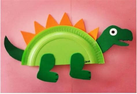 paper plate dinosaur craft ideas crafts  worksheets
