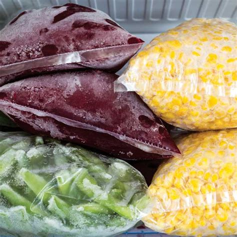 how to preserve in freezer freezing vegetables from your garden organic gardening mother earth news