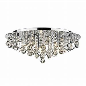 Crystal flush chandelier for low ceiling buy