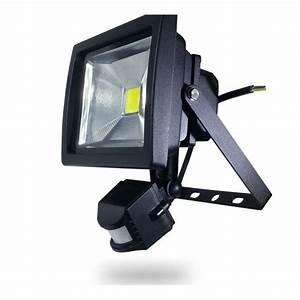 Projecteur Exterieur Avec Detecteur De Mouvement : projecteur exterieur detecteur affordable applique led ~ Edinachiropracticcenter.com Idées de Décoration