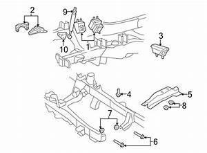 Ford Ranger Engine Mount Bracket  4 0 Liter  W  Coil Spring
