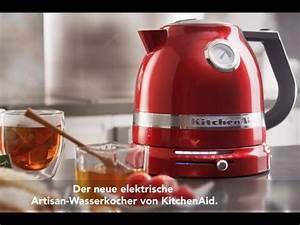 Wasserkocher Kitchen Aid : kitchenaid wasserkocher 5kek1522 youtube ~ Yasmunasinghe.com Haus und Dekorationen