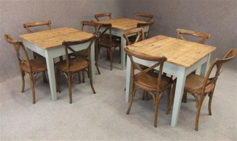 rustic pine tables restaurant tables cafe tables catering use