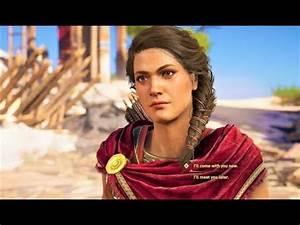 Assassin's Creed Odyssey - KYRA Tells KASSANDRA And ...