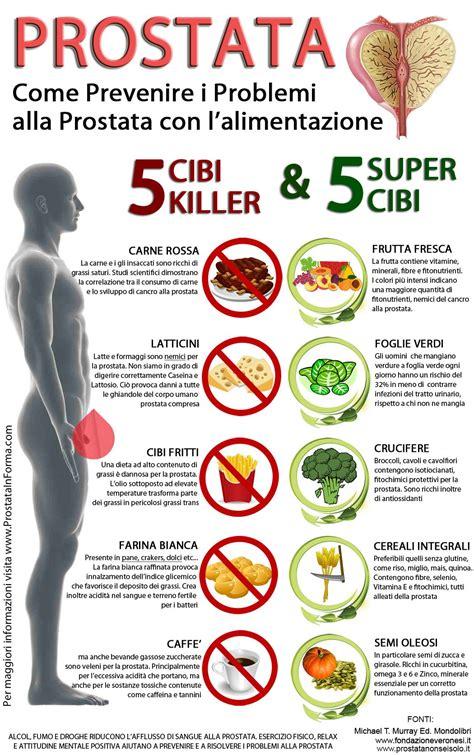 alimenti da dieta dieta per la prostata i cibi dannosi e quelli benefici