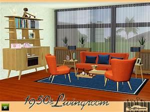 buffsumm39s 1950s livingroom pt 1 With 50s living room furniture