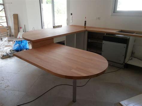 faire plan de travail cuisine faire une table avec mon plan de travail table de lit