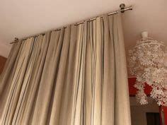 tringle rideau plafond