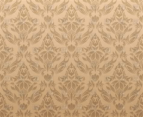 victorian style seamless wallpaper vector image