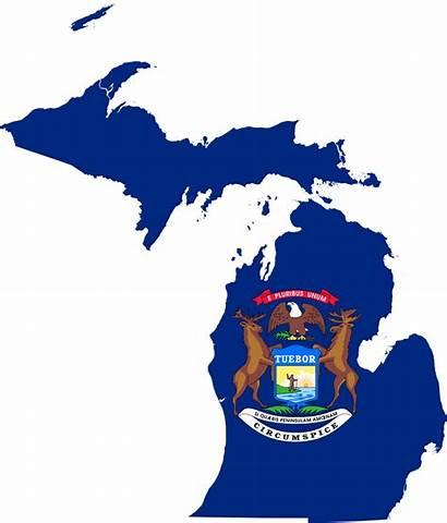 Michigan Flag Map Svg State Mi Wikipedia