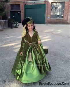gwtw pageant ooc costume scarlett o hara drapery green