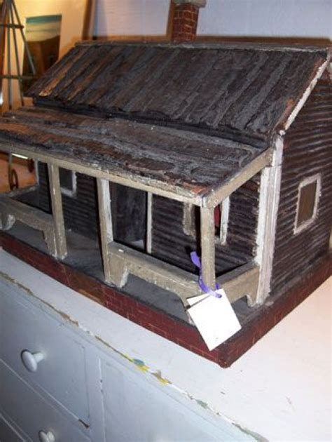 log cabin doll house smallwoodcrafts   primitive wood crafts primitive decorating