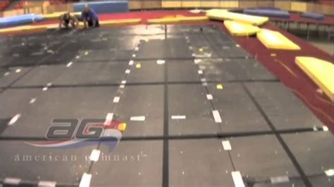 gymnastics floor assembly aai elite floor exercise gymnastics equipment