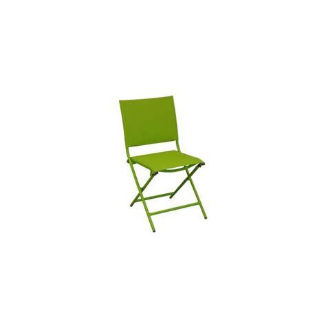 chaise textilene globe chaise pliante acier cataphorèse textilène mousse