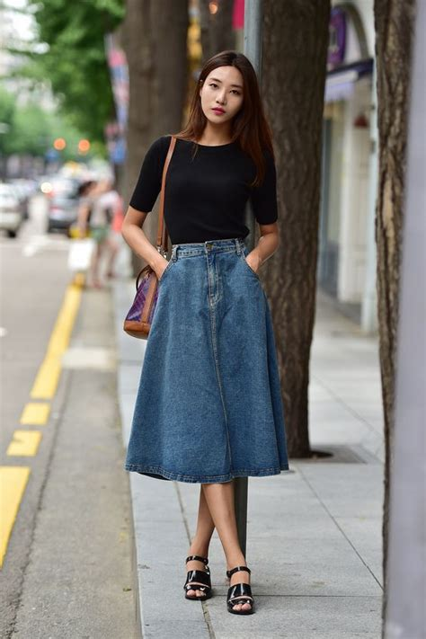 Midi and Maxi Skirts! on Pinterest | Midi Skirts Midi Skirt Outfit and Full Skirts