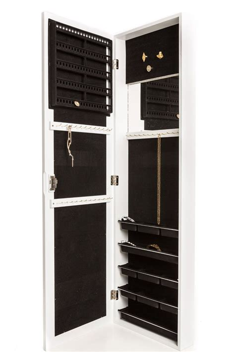 amazoncom jewelry armoire wall mount hanging
