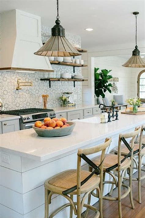 ideas  fixer upper kitchen  pinterest