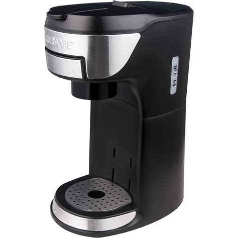 Thermal coffeemaker brews coffee 26 percent faster, meaning you can brew a full pot in less than 7 minutes. Farberware K-Cup Coffee Maker - Walmart Inventory Checker - BrickSeek