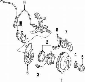 Mercury Grand Marquis Wheel Bearing And Hub Assembly