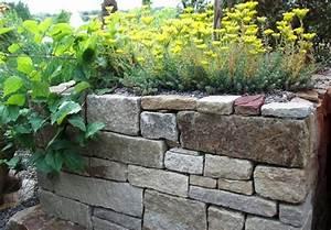 Gartenmauern Aus Naturstein : trockenmauer selbst bauen aus naturstein ~ Sanjose-hotels-ca.com Haus und Dekorationen