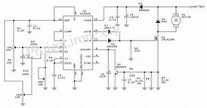 Sg3525 Pwm Dc Motor Circuit Under Repository-circuits